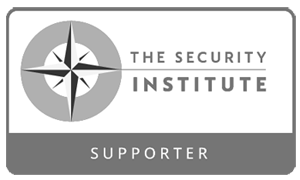 """""""The Security Institute supporter"""". Cerebral Security Solutions. Security Guarding, Door Supervisors, Hotel Security, Keyholding, Mobile Security, Vacant Property Security, Farm Security, Education Security. Bristol, Somerset."""